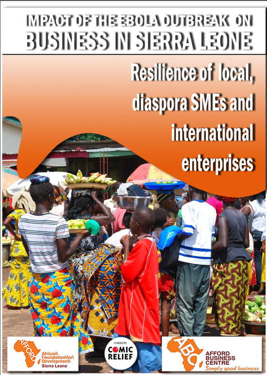 Resilience of local, diaspora SMEs and international enterprises